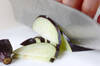 ナスのカラシ酢みそ和えの作り方の手順1