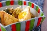 揚げ袋と白菜の煮物