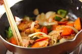 豚肉とピーマンの黒酢炒めの作り方7