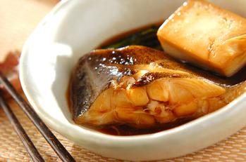 豆腐入りカレイの煮付け