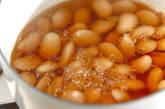 白花豆(白インゲン豆)の甘煮の作り方6