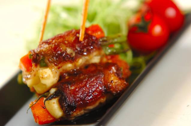 豚肉のロール焼きの作り方の手順7