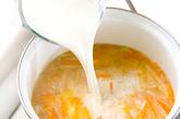 ジャガのミルクスープの作り方3