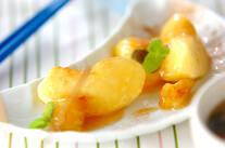 リンゴ&バナナカラメル煮