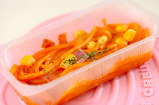 スパゲティーナポリタンの作り方の手順1
