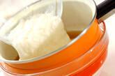 とろろとミョウガの冷やし汁の作り方4