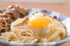牛肉とニラのすき焼き煮