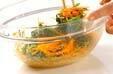 菊菜のゴマ和えの作り方の手順5