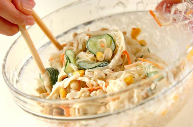 大豆のサラダの作り方の手順6