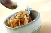 ゴボウとレンコンの梅肉和えの作り方5