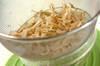 ゴボウとレンコンの梅肉和えの作り方の手順4