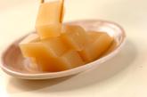 リンゴの水ようかんの作り方4