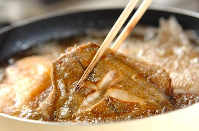 カレイのユズ風味南蛮漬けの作り方の手順8