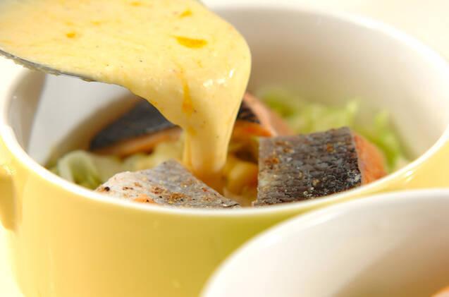 鮭とキャベツのオーブン焼きの作り方の手順7