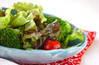 レタスのシンプルサラダの作り方の手順