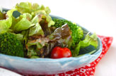 レタスのシンプルサラダ
