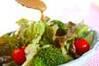 レタスのシンプルサラダの作り方の手順4