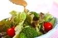 レタスのシンプルサラダの作り方1