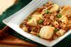 ピリ辛麻婆豆腐の作り方の手順