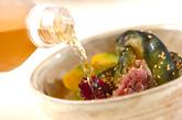 お漬物の冷茶漬けの作り方2
