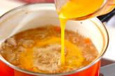 親子雑炊の作り方3