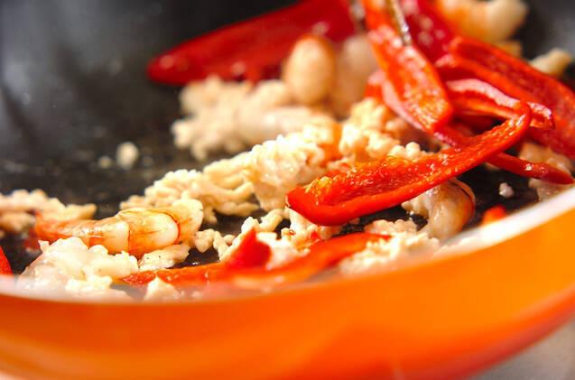 エビと春雨の炒め煮の作り方の手順7