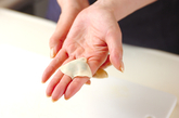 おちょぼ口餃子の作り方2