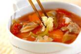 野菜とアサリのスープの作り方10