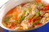 野菜とアサリのスープの作り方1