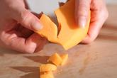 ミモレットと生ハムのパスタの作り方1