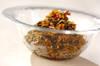 セロリの葉の佃煮の作り方の手順