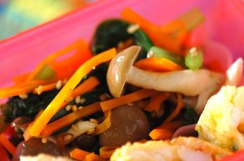 小松菜の和え物
