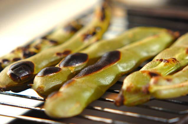焼きソラ豆の作り方の手順2