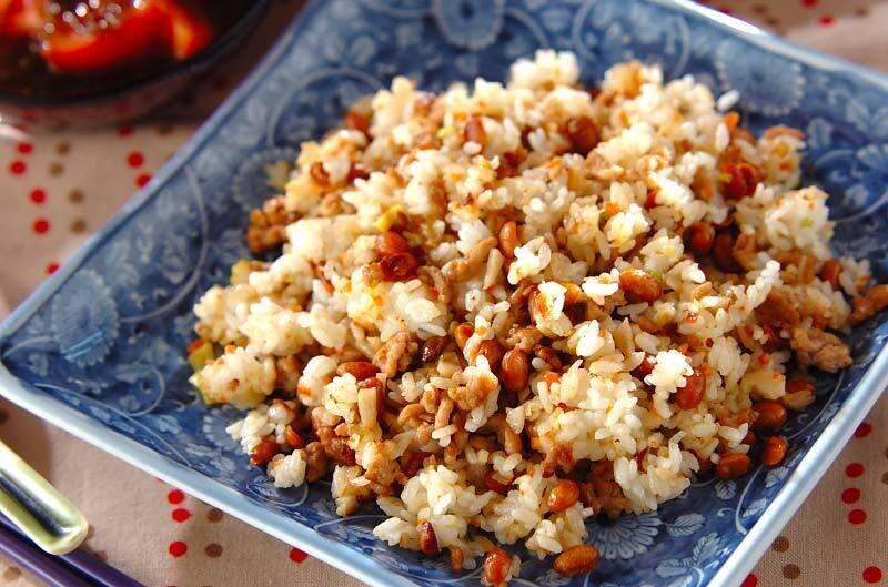 乾燥納豆チャーハン