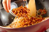 乾燥納豆チャーハンの作り方1