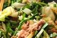 豚肉とニラのソース炒めの作り方3