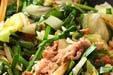 豚肉とニラのソース炒めの作り方8