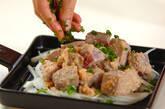 マグロの明太子バター炒めの作り方4