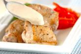 マッシュルームソースチキンソテーの作り方7