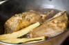 揚げカレイのみぞれ煮の作り方の手順3