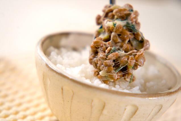 納豆&ワサビご飯の作り方の手順2