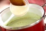 抹茶プリン・ベリーソースの作り方2