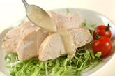 レンジ蒸し鶏の作り方3