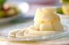 メロンのブランデー風味の作り方の手順