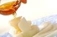 メロンのブランデー風味の作り方1