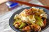さっぱり柚子胡椒香る!鶏もも肉と白ネギのポン酢炒めの作り方の手順