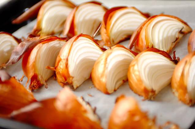 玉ネギのまんま焼きの作り方の手順3
