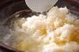 カニすき鍋の作り方4