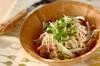 切干し大根のサラダの作り方の手順
