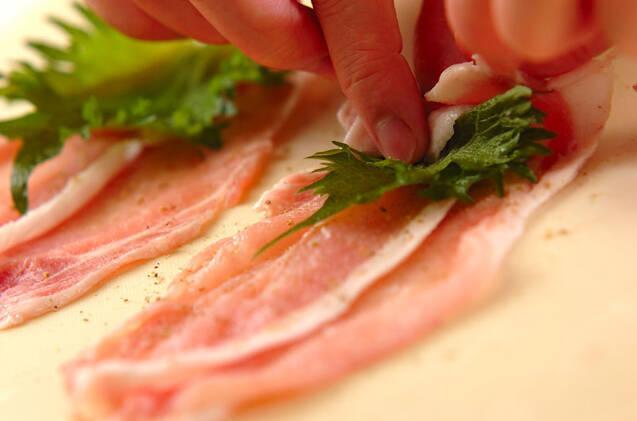 揚げないソースカツ丼の作り方の手順5